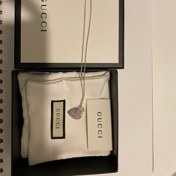 Gucci Jewelry - Gucci heart shaped necklace